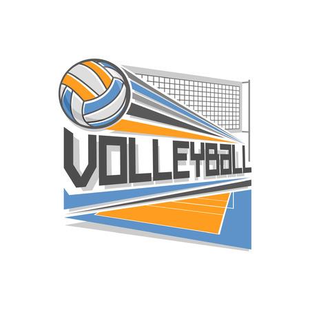 voleibol: Logotipo de Voleibol Vectores