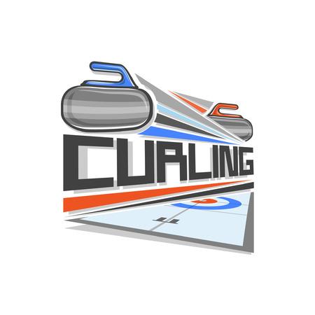 curling: Curling logo
