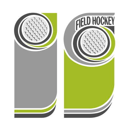 field hockey: Background images for text on the theme of field hockey Illustration
