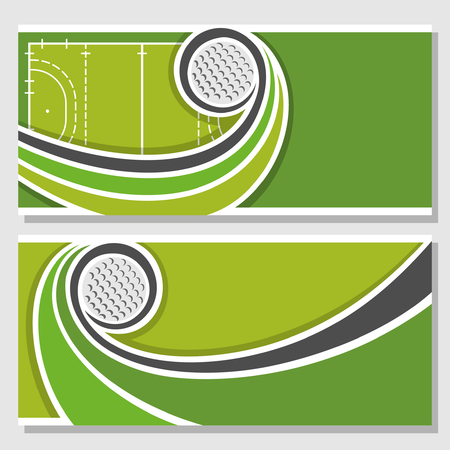 text field: Background images for text on the theme of field hockey Illustration