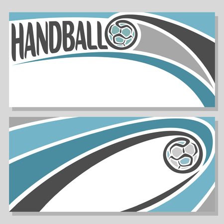 handball: Background images for text on the theme of handball