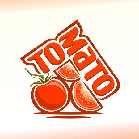 tomates: ilustración en el tema del tomate