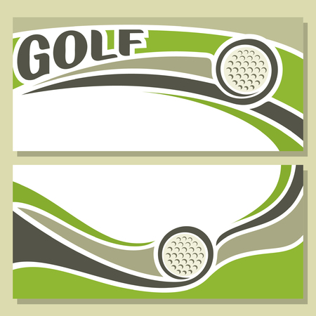 background images: Background images for text on the theme of golf Illustration