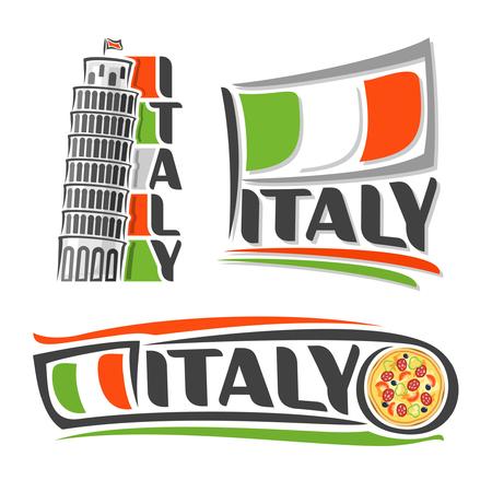italian flag: imágenes abstractas sobre el tema de Italia