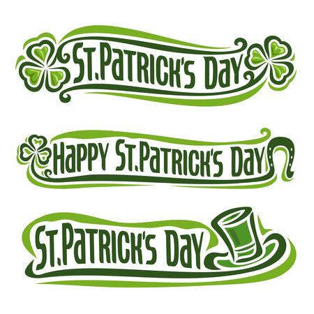 irish pub label design: st. patricks day