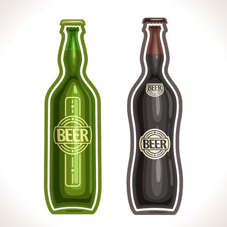 irish pub label design: bottle beer