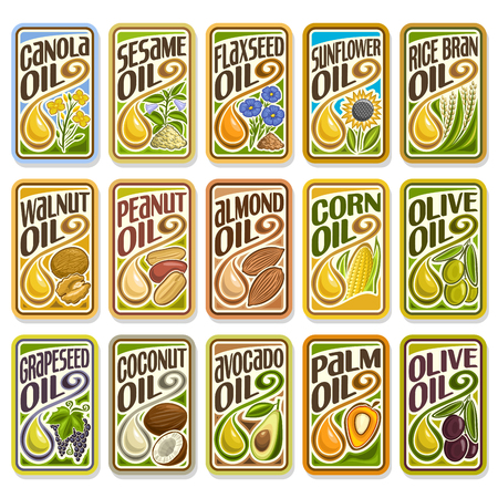 palm oil: Sunflower and Olive Oil
