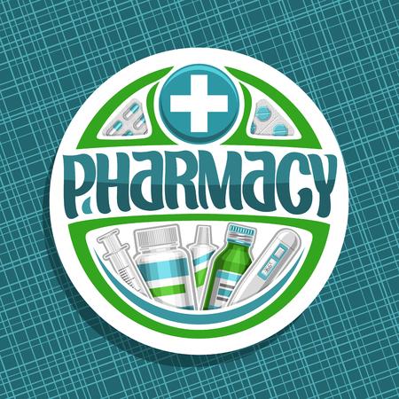 Vector logo for Pharmacy