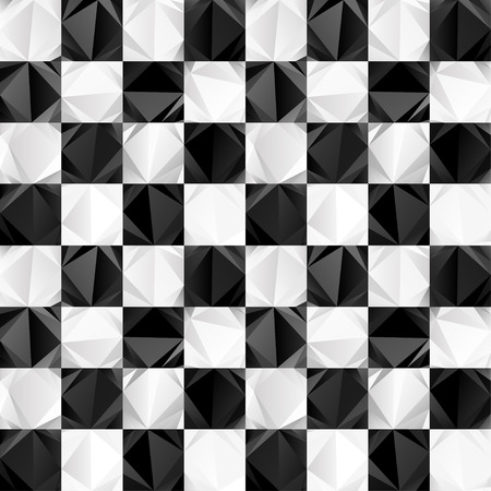 checkerboard: Seamless checkerboard of triangles pattern