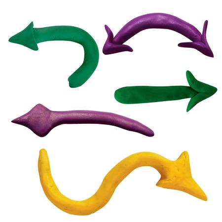 plasticine: Plasticine arrow