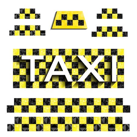 삼각형으로 체커 택시