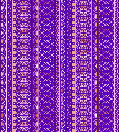 스타일 민족, 낙서 원활한 패턴입니다. 기하학적 인 원활한 패턴 색.