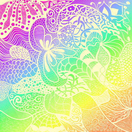 Color background.