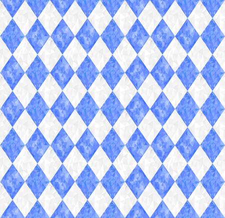 원활한 옥토버 페스트 파란색 배경과 삼각형