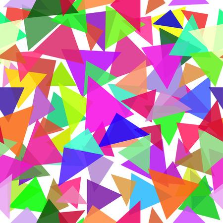삼각형으로 추상 원활한 패턴