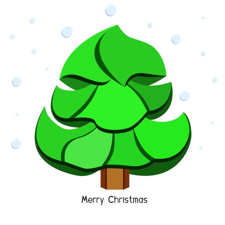 종이 크리스마스 트리