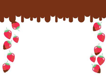 Strawberry Chocolate Frame