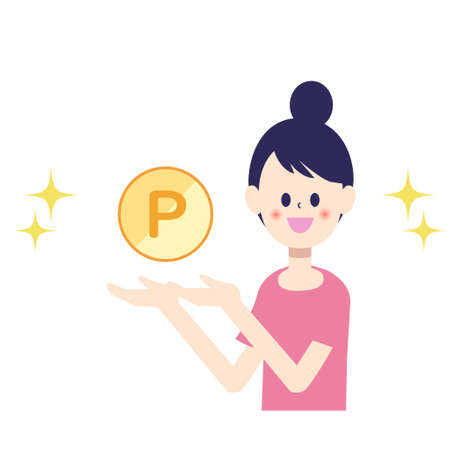The woman who got the point coin