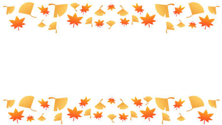Autumn Leaf Ornament Frame