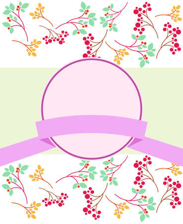 Plant and tree fruit labels  イラスト・ベクター素材