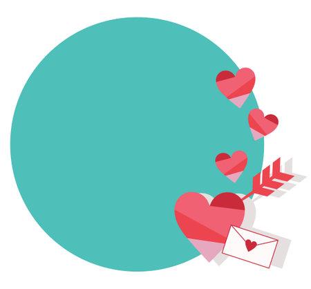Heart and Love Letter Frames