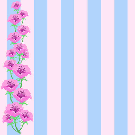 Anemone Flower Decoration Background Material