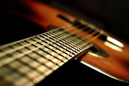 fender: Classic acoustic guitar