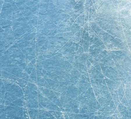 scratched: Scratched blue ice surface Stock Photo