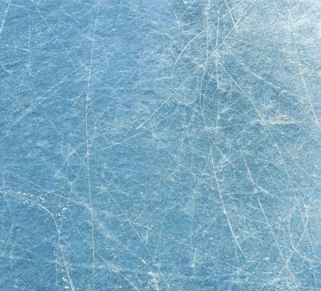 Zerkratzt blau Eisoberfläche