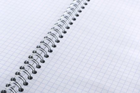 Blank notebook photo