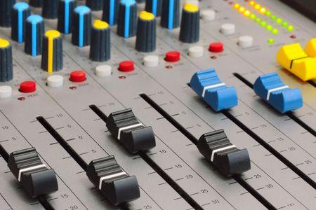Audio mixer photo