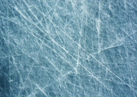 surface: Ice surface with scratches