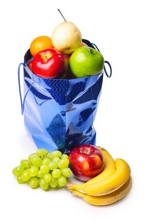 Bolsa con frutas  Foto de archivo - 7297457