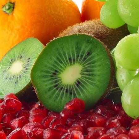 Tropical fruits photo