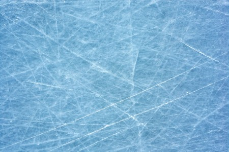 Scratched blue ice surface Stock Photo - 7584490