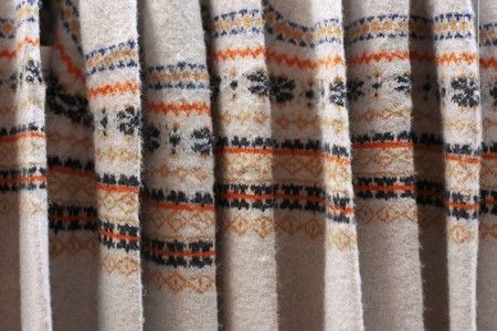 Same wool sweaters with patterns photo