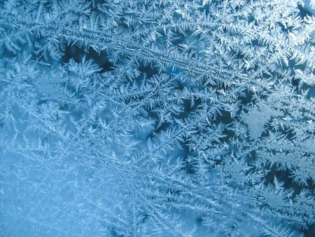 frosted glass: Rime texture
