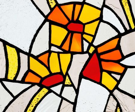 window shade: Vidriera
