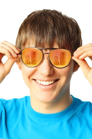 Young guy with glasses Stock Photo - 7582895