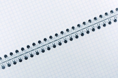 Blank notebooks pages photo