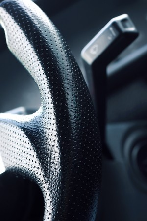 Sport car interior photo