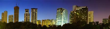 City skyline of the Kuala Lumpur. Malaysia Stock Photo - 9266785