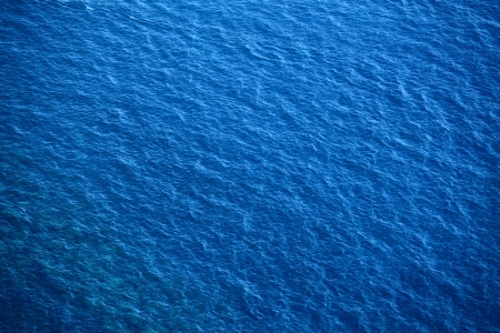 ripple  wave: Blue sea surface with waves