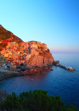 Manarola town of Cinque Terre National Park, Italy Stock Photo - 16875498