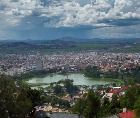 City of Antananarivo. Madagascar Reklamní fotografie - 25576088