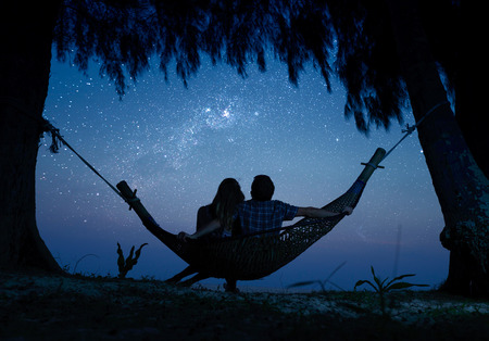 hammock: Couple Stock Photo