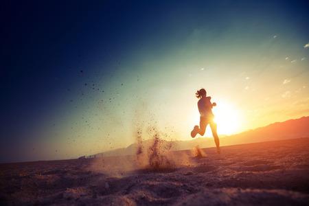 健身: 跑步者 版權商用圖片