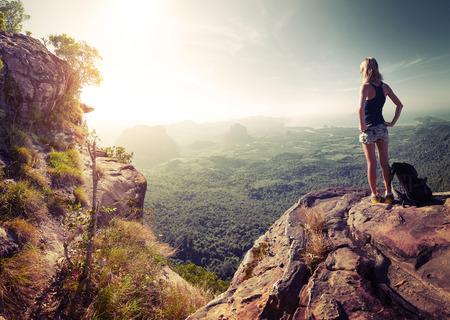 Hiker lady Zdjęcie Seryjne - 35267802