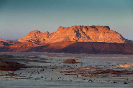 monte sinai: Rocoso del desierto del Sinaí, Egipto