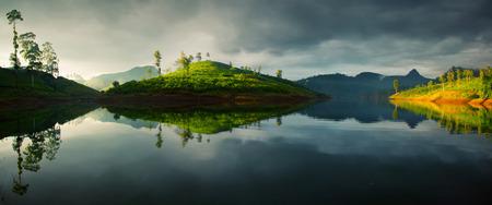 pada: Sri Lanka landscape Stock Photo